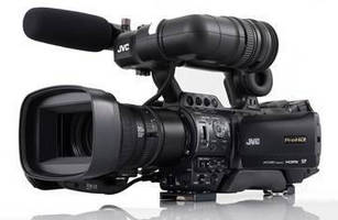 Shoulder-Mount Camcorders offer HD streaming for live broadcast.