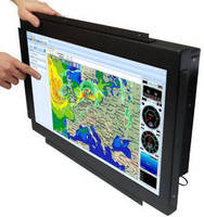 Sunlight Readable Marine Display supports multi-touch technology.