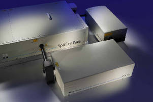 Ultrafast Amplifiers deliver greater than 14 W power.