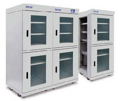 Desiccant Cabinets provide dehumidification in modular design.