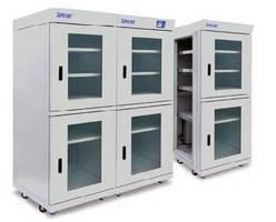 Desiccant Cabinets provide dehumidification in modular design.
