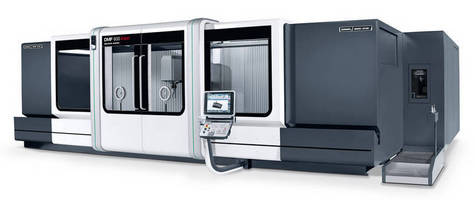 Travelling Column Machining Center has 80 m/min linear drive.