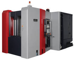 Horizontal Machining Center incorporates high-speed features.