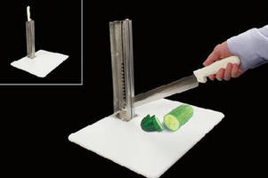 Food Slicer helps ensure safety during food preparation.
