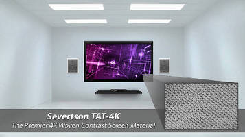 Projection Screens suit rooms with incoming ambient light.