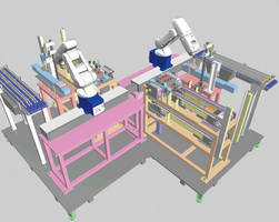 Offline Programming Software allows 3D simulation of 16 robots.