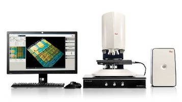 Metrology System offers non-destructive, 3D surface profiling.