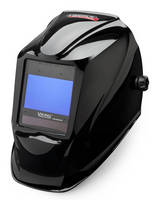 Auto-Darkening Welding Helmet features digital interface.