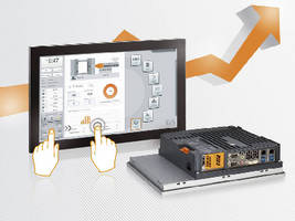 Panel PCs offer multi-touch functionality.