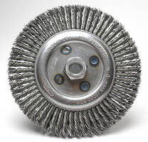 Heavy-Duty Wire Brush is designed for pipe maintenance.