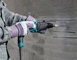 Corded, 1 in. Rotary Hammers are suited for overhead drilling.