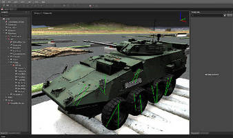 Simulation Software creates dynamic models of heavy equipment.