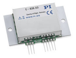 OEM Piezo Driver integrates high voltage power supply.