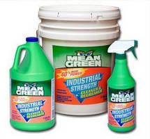 Industrial Cleaner/Degreaser cleans surfaces and lifts stains.