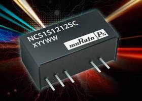 Compact, 1 W DC/DC Converter helps improve efficiency.