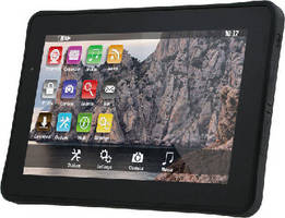 Rugged Tablet Computer complies with MIL-STD-810G standard.