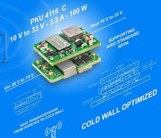 Adjustable Output DC/DC Converter powers RFPA applications.