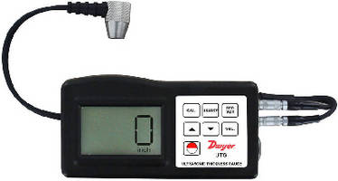 Ultrasonic Thickness Gauge provides �0.5% accuracy.