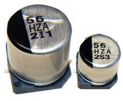 Hybrid Capacitors combine polymer, aluminum electrolytic benefits.