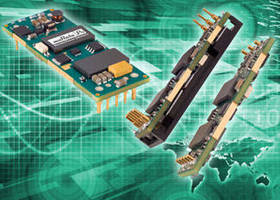 DC-DC Converters suit distributed power applications.