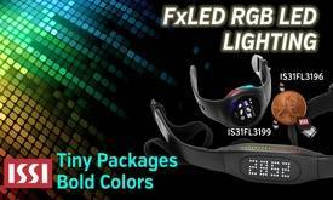 RGB LED Drivers bring color to digital consumer products.