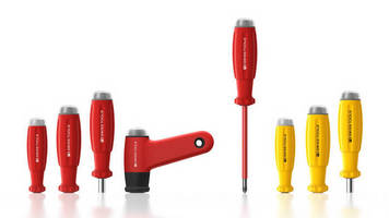 Analog Torque Wrench Screwdrivers are adjustable and ergonomic.