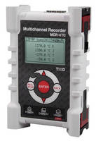 Quad-Channel Temperature Datalogger offers trend graphing.