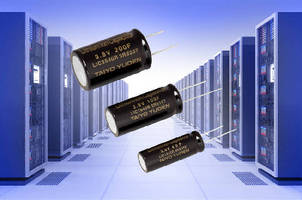Lithium Ion Capacitors suit server backup power sources.