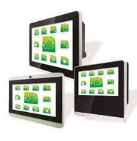 PoE HMI Panels target building automation industry.