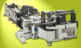Electric Tube Bender delivers automation and precision.