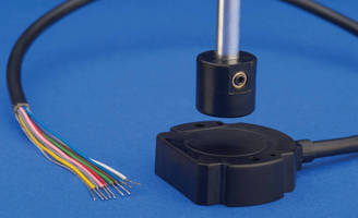 Touchless Rotary Angle Sensors offer 10 output choices.