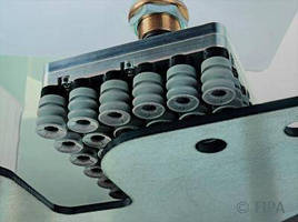 Low-Leak Suction Plates automate sheet metal handling.