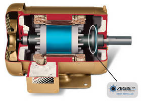 Electric Motors have internal AEGIS bearing protection ring.