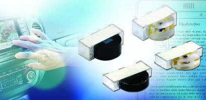 IR Emitter/Photodiode Pairs suit IR touch panels.
