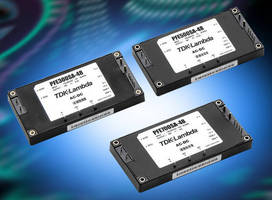 AC/DC Full-Brick Power Modules achieve up to 91% efficiency.