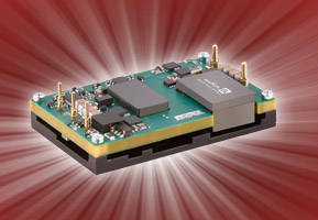 DC/DC Converter suits wireless backhaul, smart grid applications.