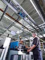 Light Crane System delivers smooth operation with low resistance.