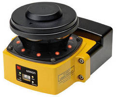 Safety Laser Scanner has 104.5 mm profile design.