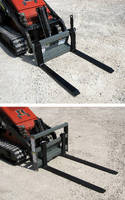 Pallet Forks suit mini skid steers.