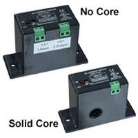 Miniature Current Switches come with solid core or no core.