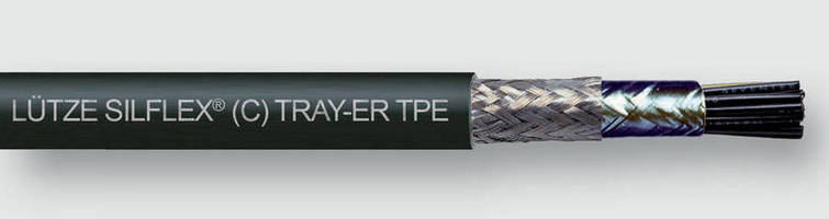 Flexible TPE Tray Cable exhibits broad substance resistance.