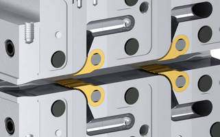 Feedblock Tuning Inserts can be adjusted during co-extrusion.