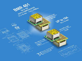 DC/DC POL Regulator Modules offer 6 A or 8 A output.