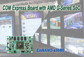 COM Express CPU Module incorporates AMD G-Series SoC.
