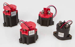 Compact Contactors suit solar applications to 1,500 Vdc.
