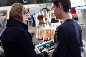 Order Processing App increases paint store service, efficiency.