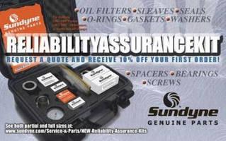 Pump/Compressor Maintenance Kits minimize downtime and failure.