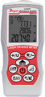 Laser Distance Meter measures up to 229.7 ft.