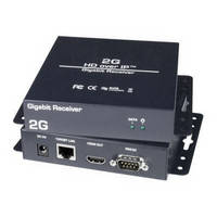 HDMI Audio/Video Extender provides 333 ft range.