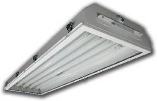 Linear Fluorescent Lighting installs at various angles.